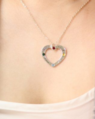 """""""Love"""" Family Name Necklace"""