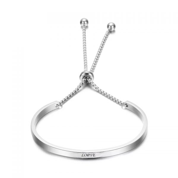 titanium bacelet light grey