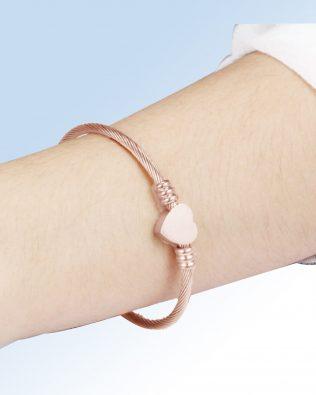 Love Engravable Bracelets Titanium Steel