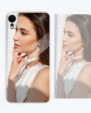 Iphone XR Custom Photo Phone Case Glass