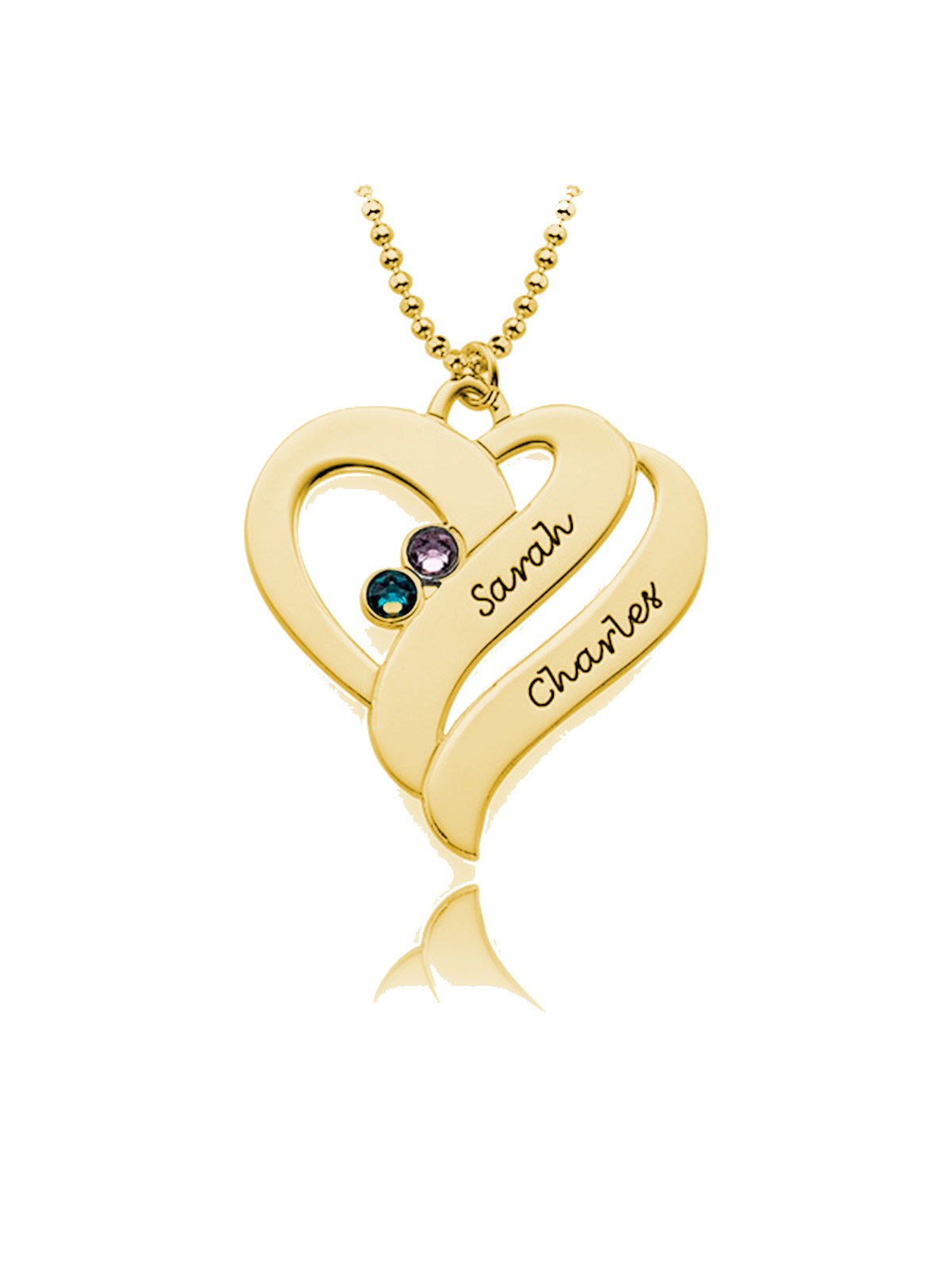 double-heart-neckalce-silver-18k-gold-plated