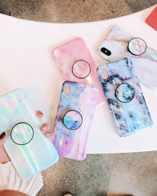 Marble Polar Lights Phone Case