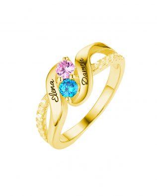 Birthstone Ring Style 2