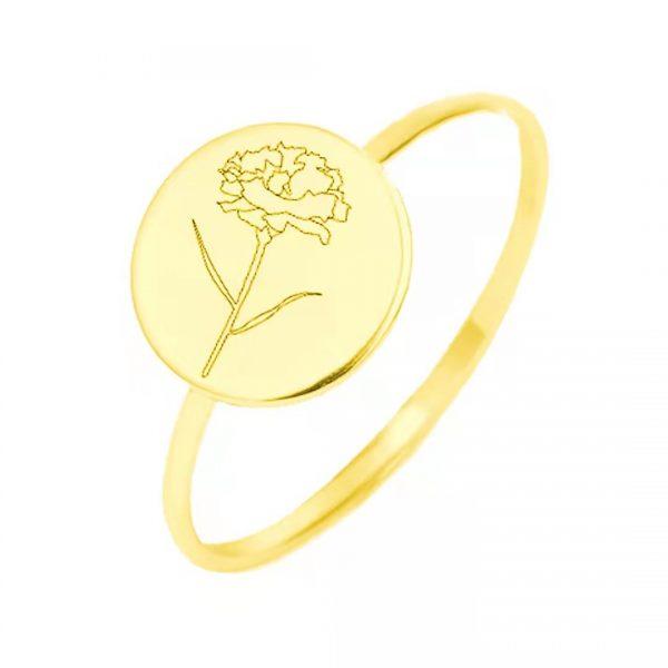 Ring Jan Flower Gold