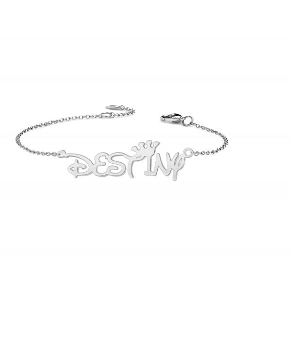 destiny name bracelet platinum