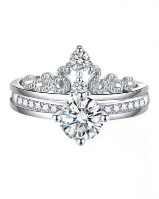 Crown Combination Promise Ring