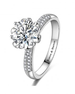 Ice Queen Promise Ring