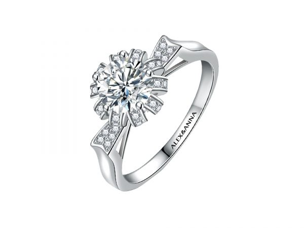 Blooming Flower Promise Ring