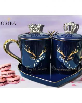 Personalized King & Queen Mug Set