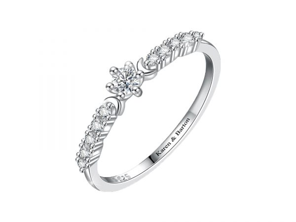 Moon Star Promise Ring 2