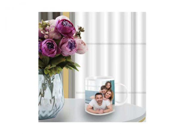 Personalized Photo Milk Mug