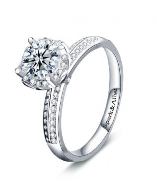 Royal Bloom Promise Ring