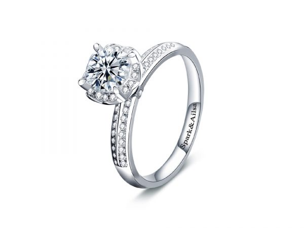 Royal Bloom Promise Ring 1