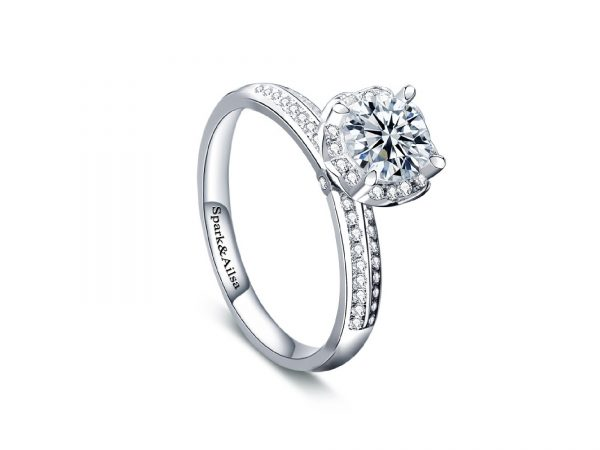 Royal Bloom Promise Ring 2