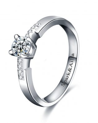Star Light Promise Ring