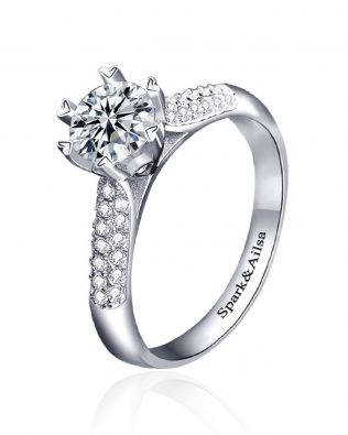 Love Bouquet Promise Ring