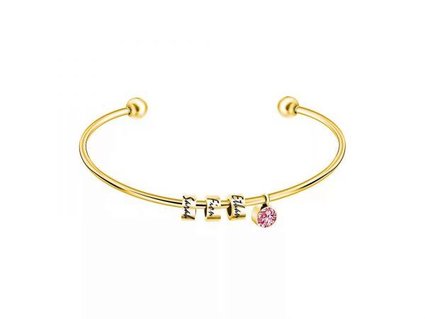 personalized skinny sparkle bracelet gold