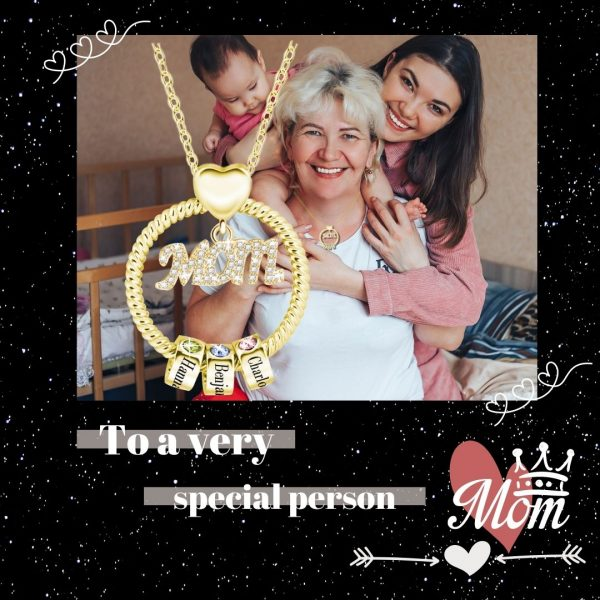 personalized super mom name necklace 5