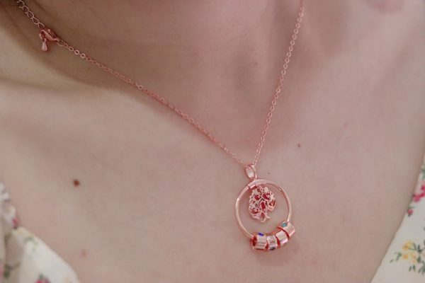 personalized sweet home necklace model 2