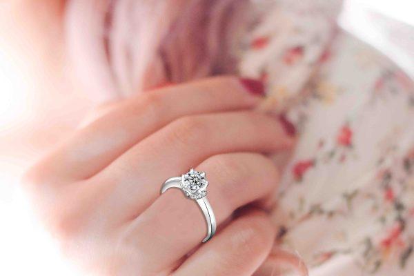 Angel's Kiss Promise Ring