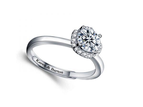 Angel's Kiss Ring