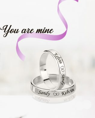 You are Mine Couple Rings