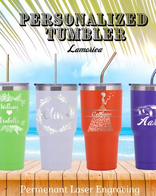 Personalized 30oz Vacation Tumbler