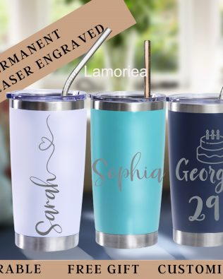 Personalized 20oz Vacation Tumbler