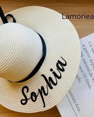 Personalized Floppy Beach Hat