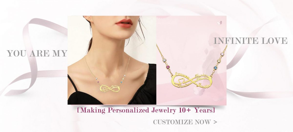 infinity necklace banner